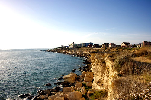 The city of Aktau on the Cape Cretaceous