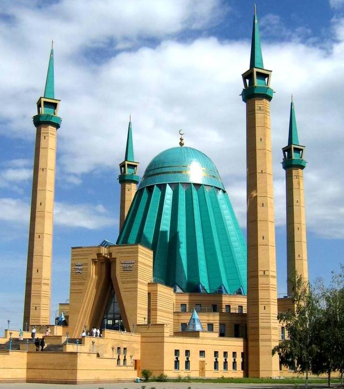 The architectural structure mosque of a name Mashhyr