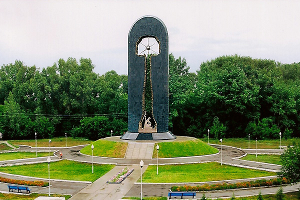 """Stronger than death"" monument"