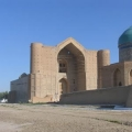 The Mausoleum of Khoja Akhmet Yassawy, XIV century