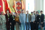 A representative delegation of the UNDP in Akmola region