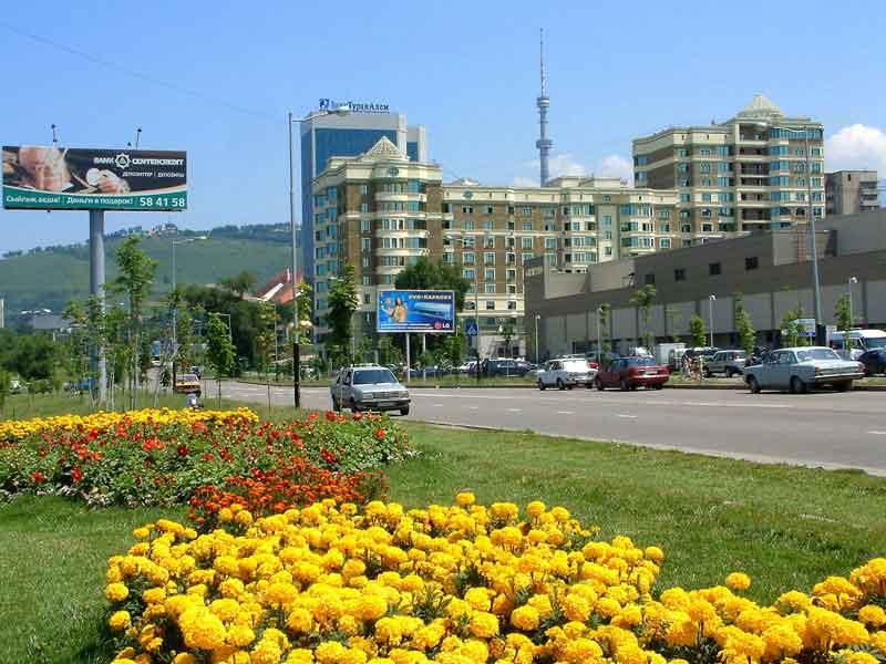 29 октября 2010 16:33. В Алматы в рамках акции Чистый город вы